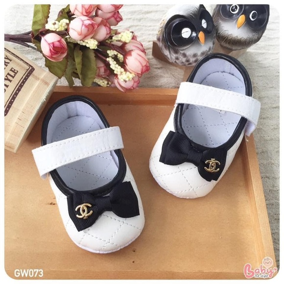 CHANEL Dresses | Chanel Baby Shoes Size